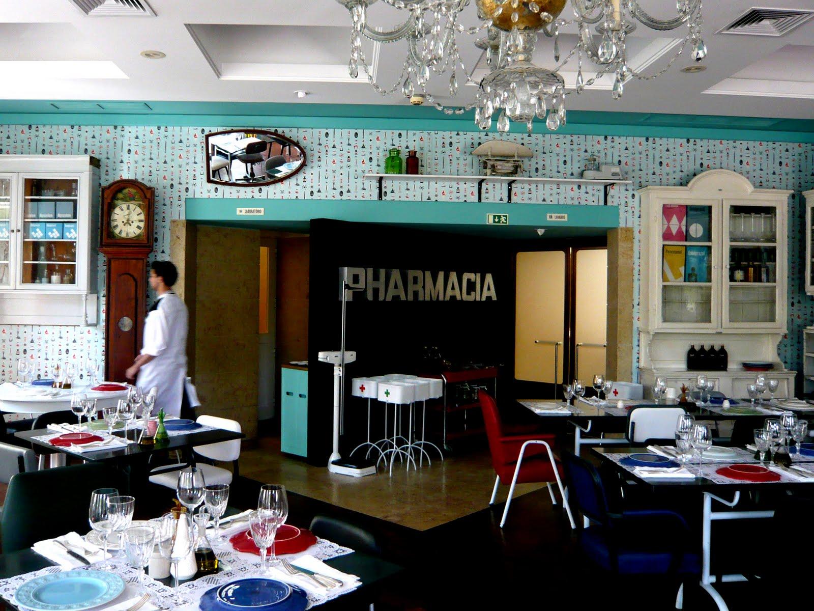 ristorante pharmácia lisbona