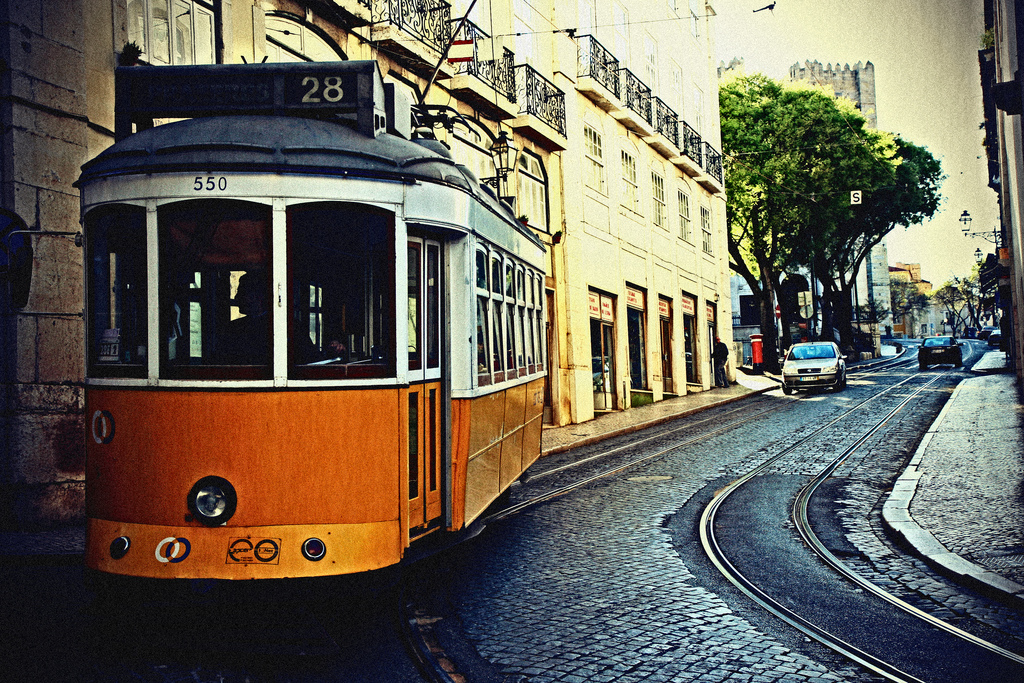 tram lisbona