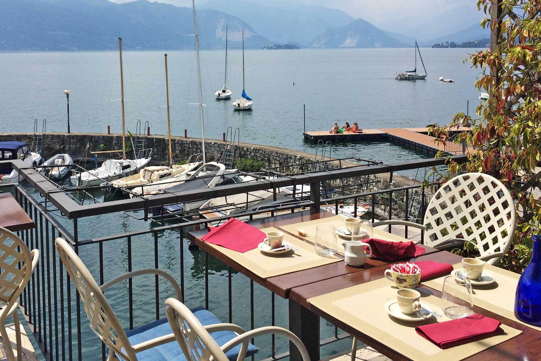 Fuori porta. Mangiare pesce a 20 € con vista sul Lago Maggiore