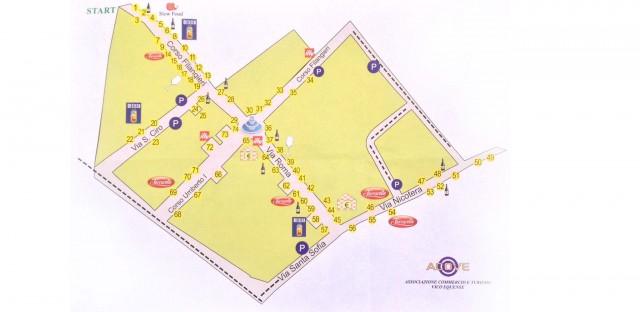 Festa a Vico 2014 mappa negozi