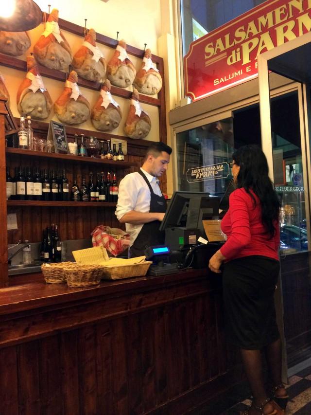 Salsamenteria di Parma a Milano
