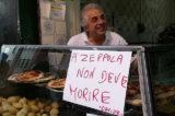 Napoli. Zeppole vs patatine fritte all'inaugurazione di Chipstar