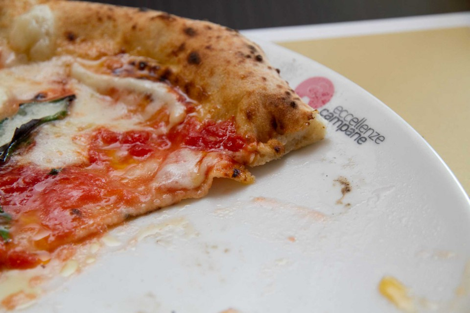 fetta pizza margherita