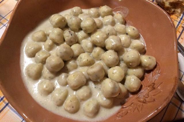 gnocchi di ortica