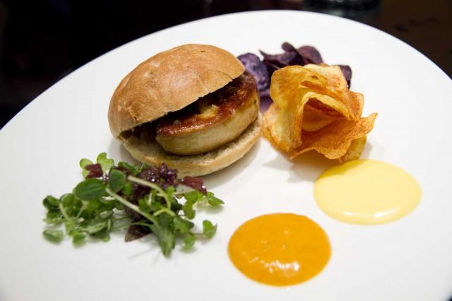 panino foie gras Bowerman