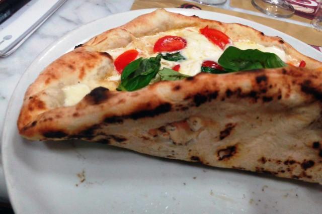 pizza margherita carmnella cottura