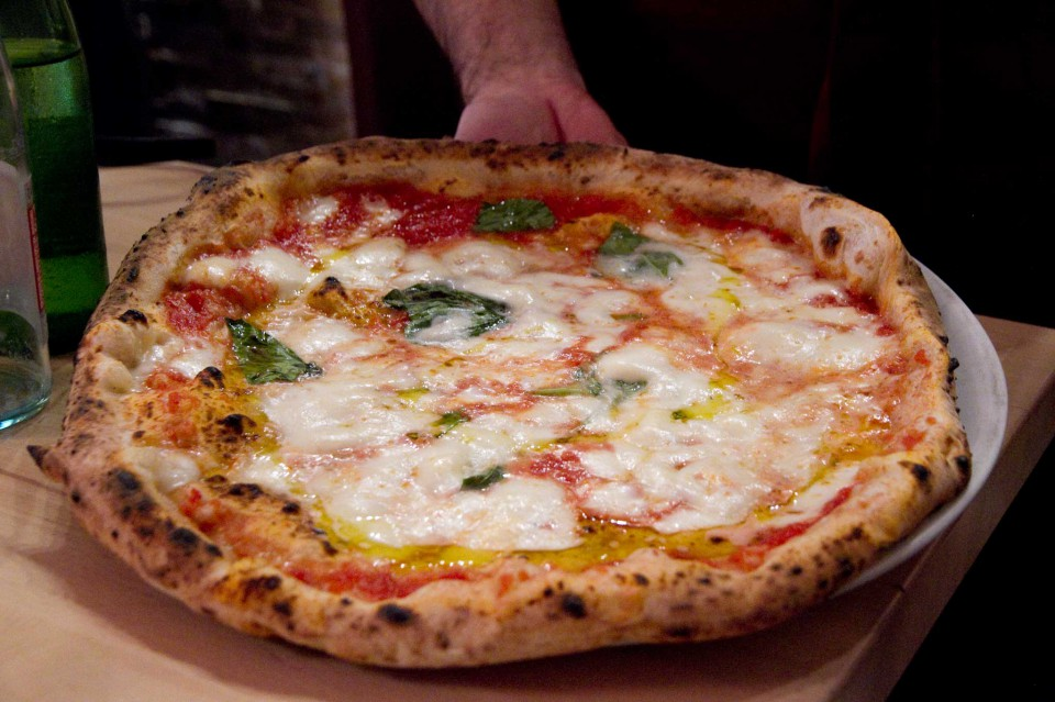 pizza margherita fratelli Salvo