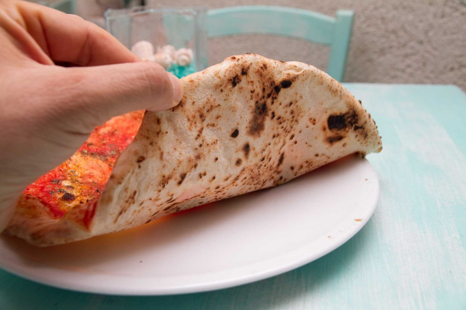 pizza marinara cottura