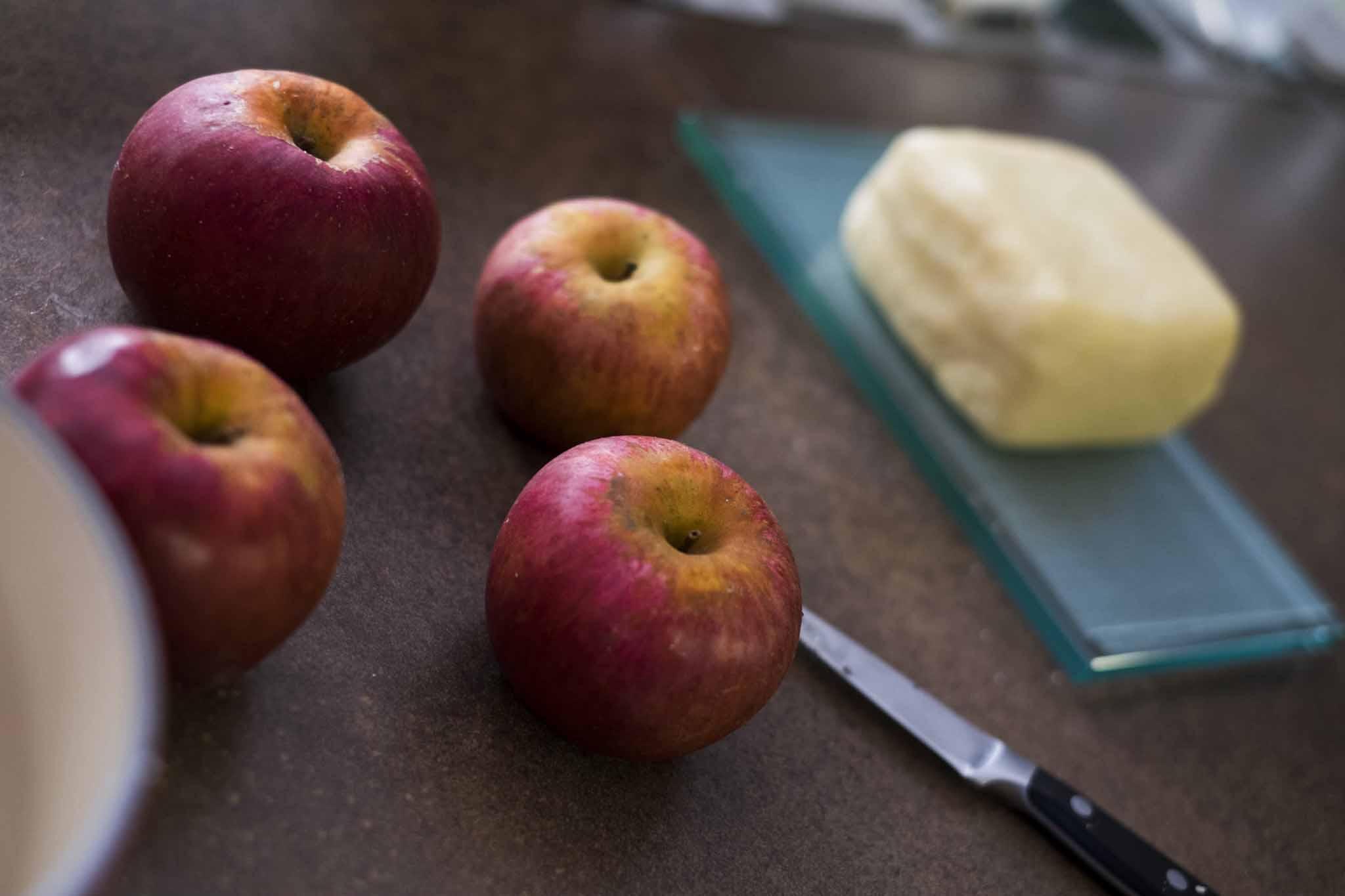 preparazione mele