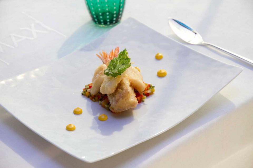 triglia e calamari frittura