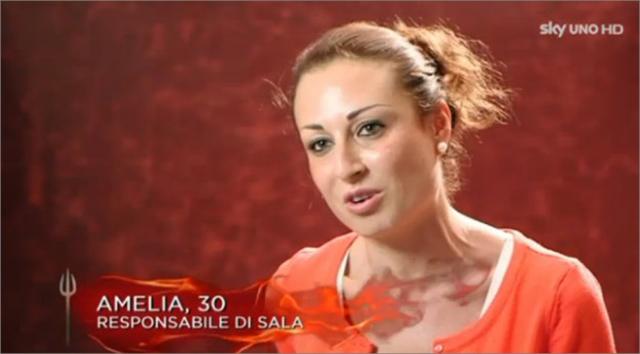 Amelia Mazzola Hell's Kitchen