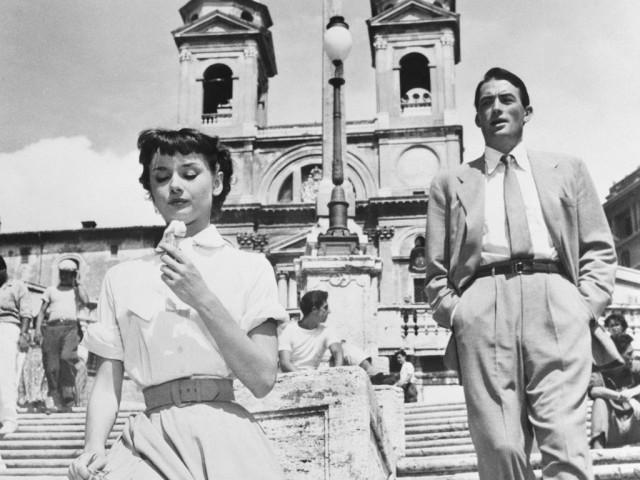 Audrey Hepburn gelato
