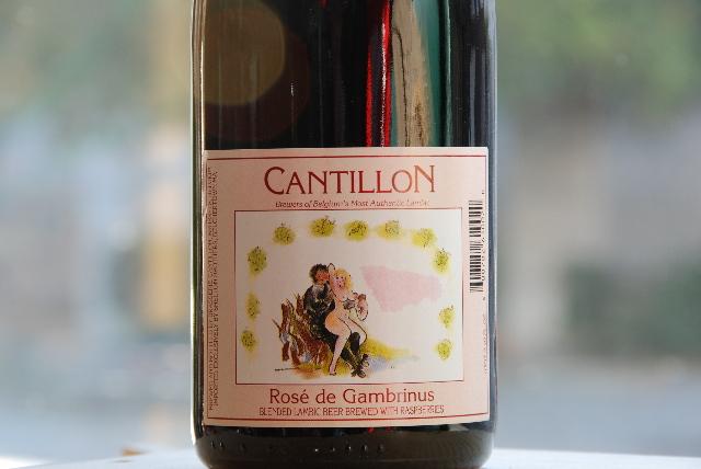 Cantillon Rose de Gambrinus