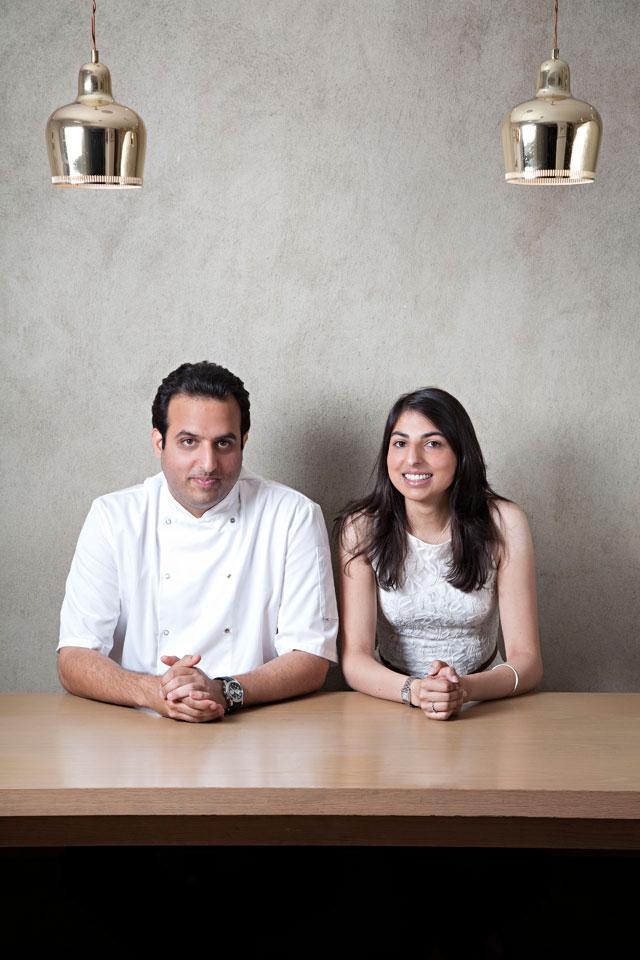 Karam and Sunaina Sethi