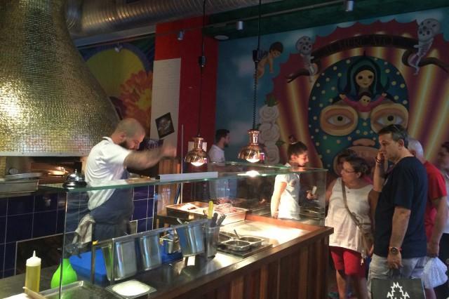 Milano al mercato uno e quadruplo con il taco bar a for Ristorante murales milano
