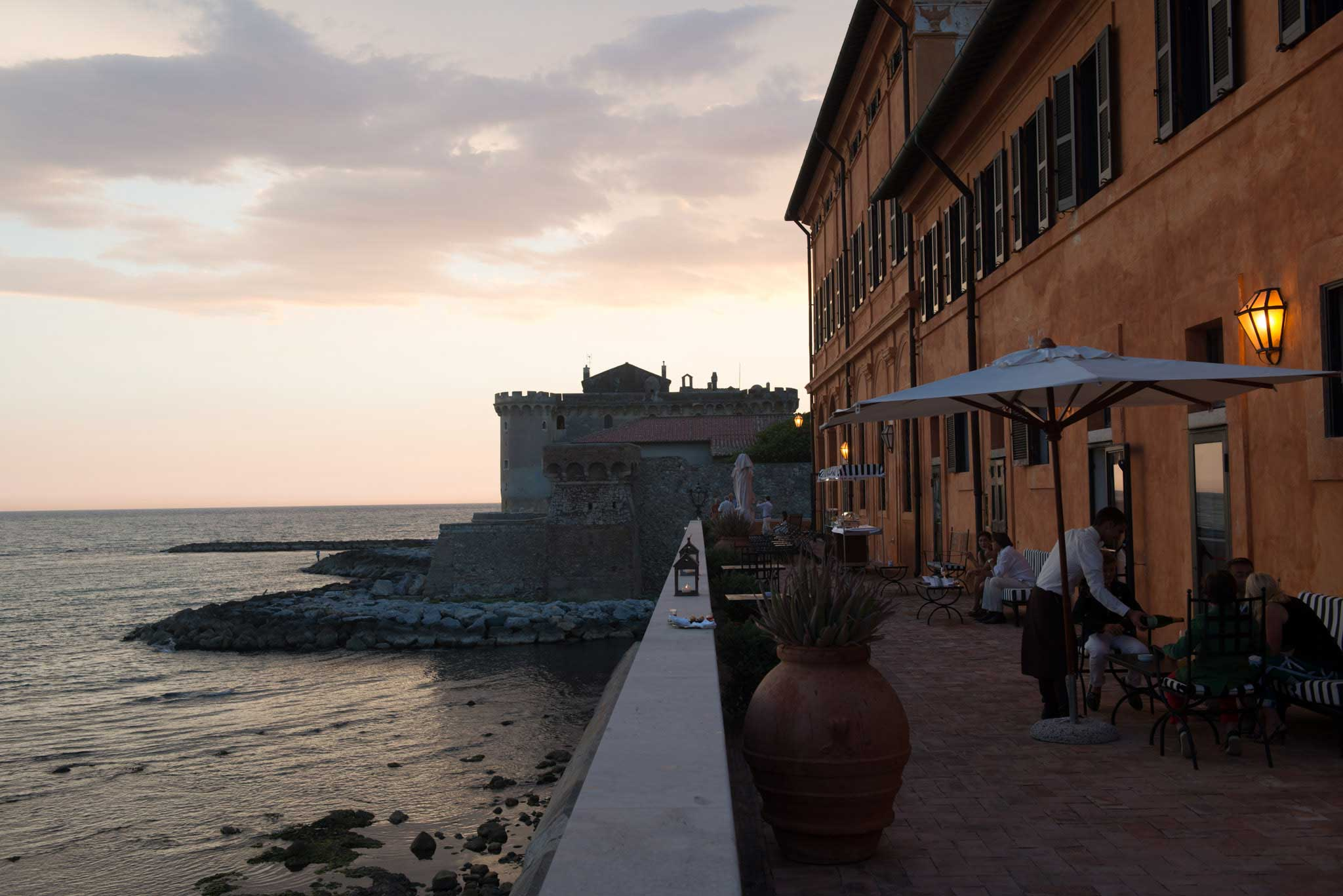 The cesar ristorante che cerca di riprendere la stella for La vecchia roma ristorante roma