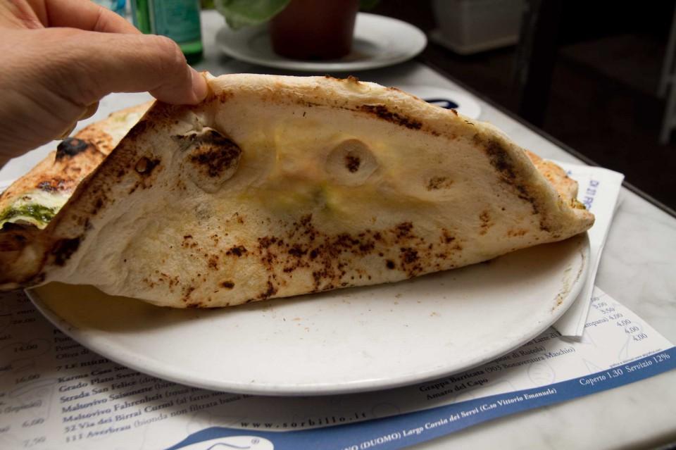 cottura pizza pesto