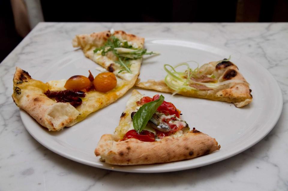degustazione pizza