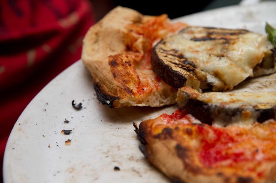 fetta pizza parmigiana