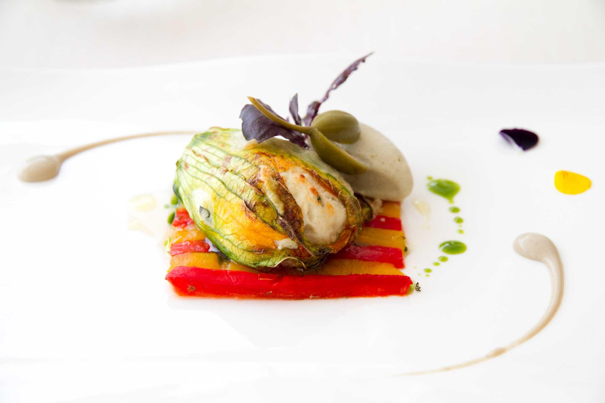 La ricetta perfetta dello chef fiori di zucca con ricotta di bufala