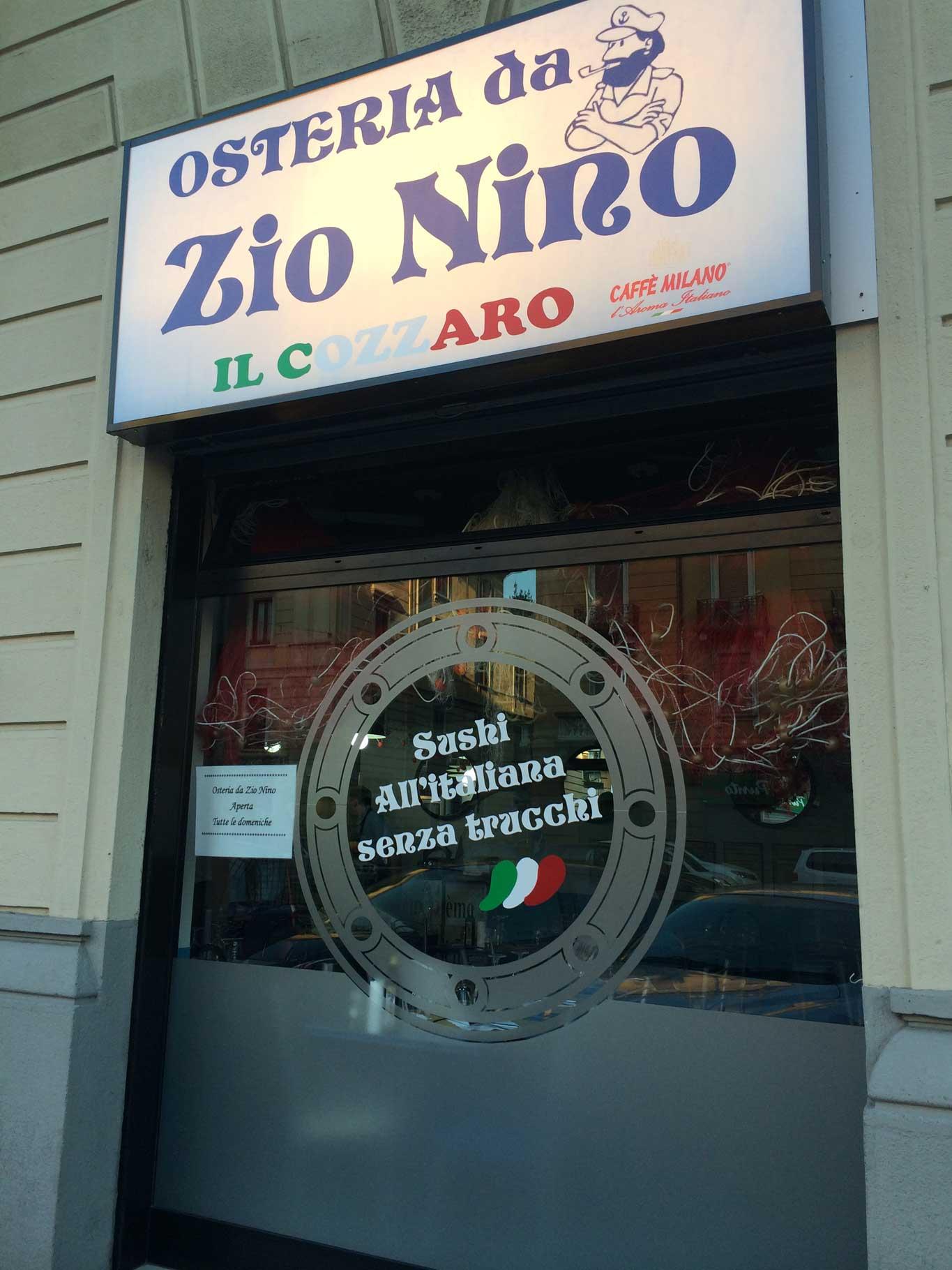 Milano Osteria Da Zio Nino Per Mangiare Ottimo Pesce A 10 A Piatto