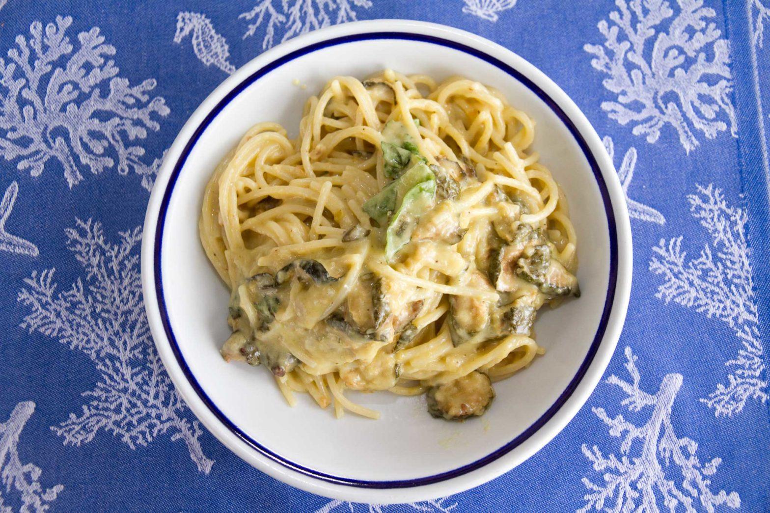 pasta zucchine alla Nerano Maria Grazia
