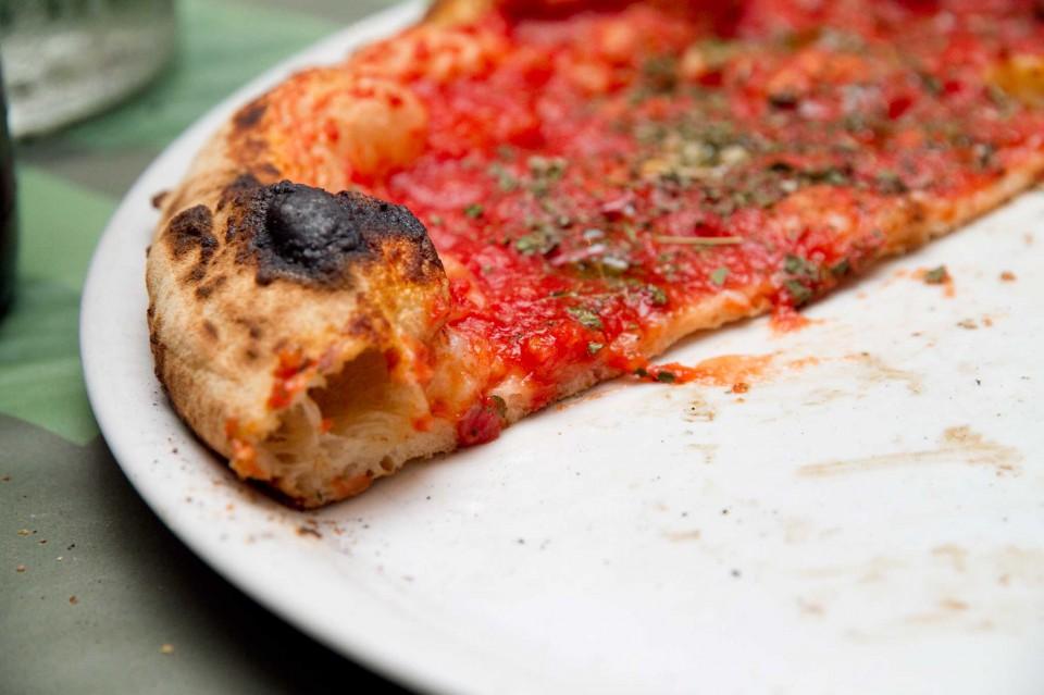 pizza Marinara taglio