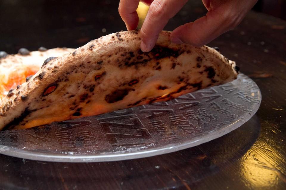 pizza margherita gas cottura
