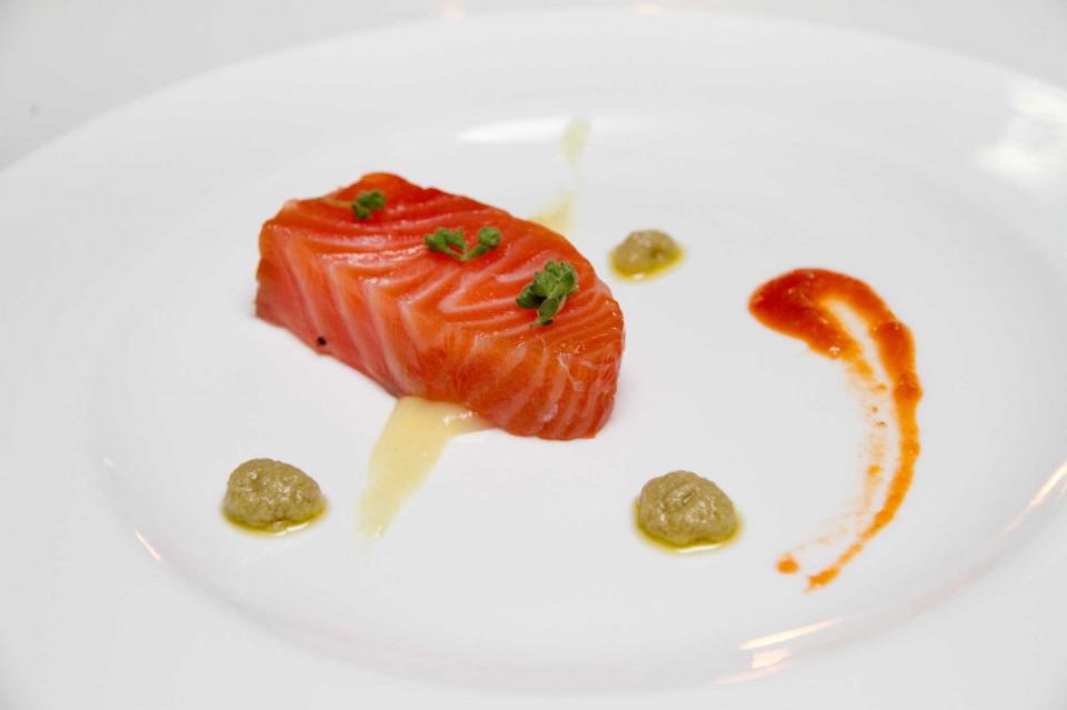 salmone marinato