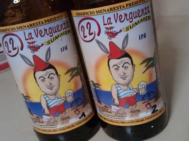 verguenza summer birra