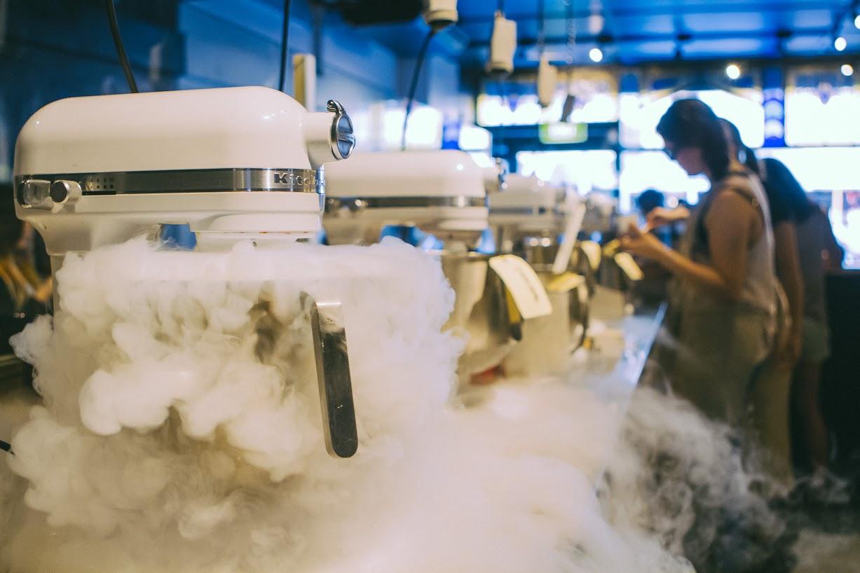 n2 gelato azoto liquido gelateria