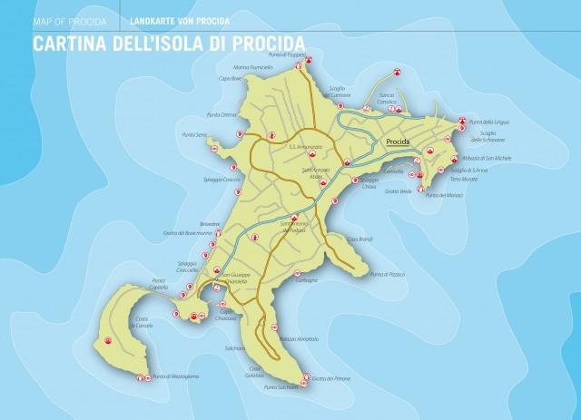 cartina procida