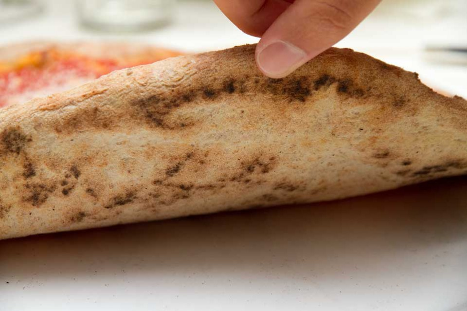 cottura pizza cilentana