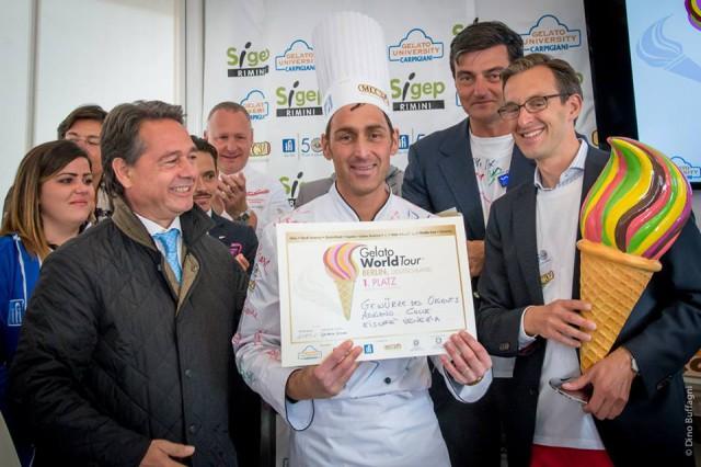 adriano colle vincitore gelato world tour berlino