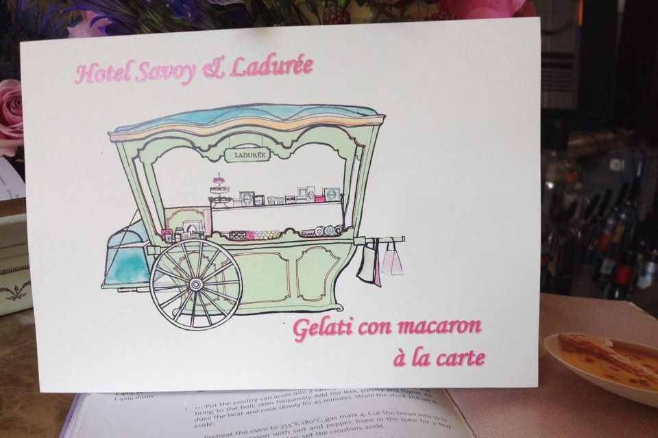 carta gelati laduree pierangelini firenze