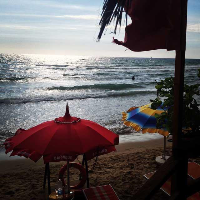 menu di ferragosto in spiaggia