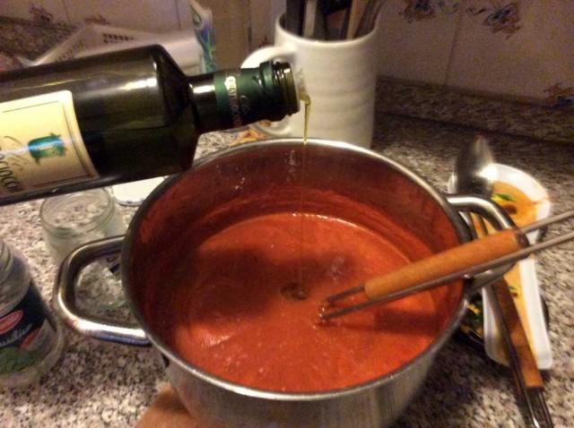 passata pomodoro olio