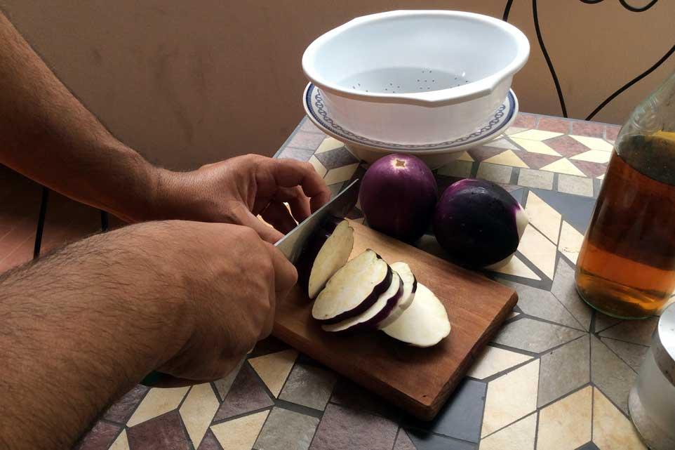 ricetta melanzane sott'olio 02