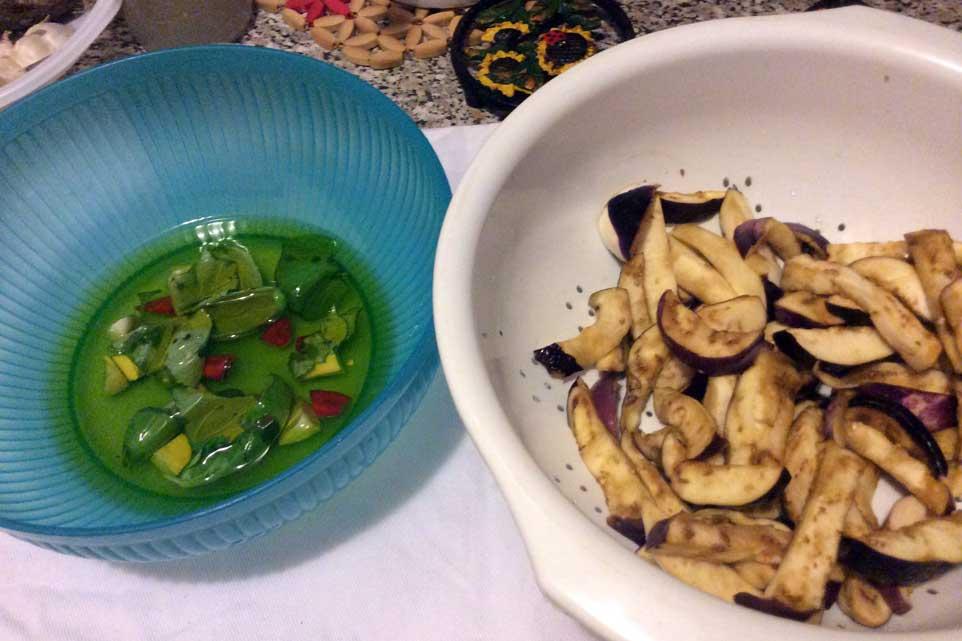 ricetta melanzane sott'olio 09