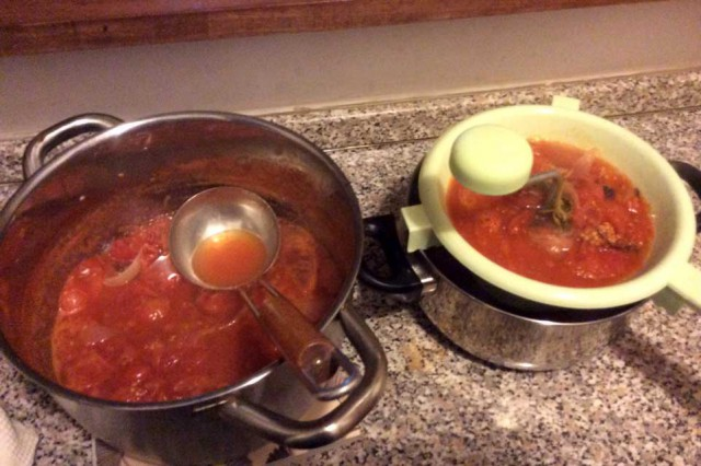 salsa pomodoro passata
