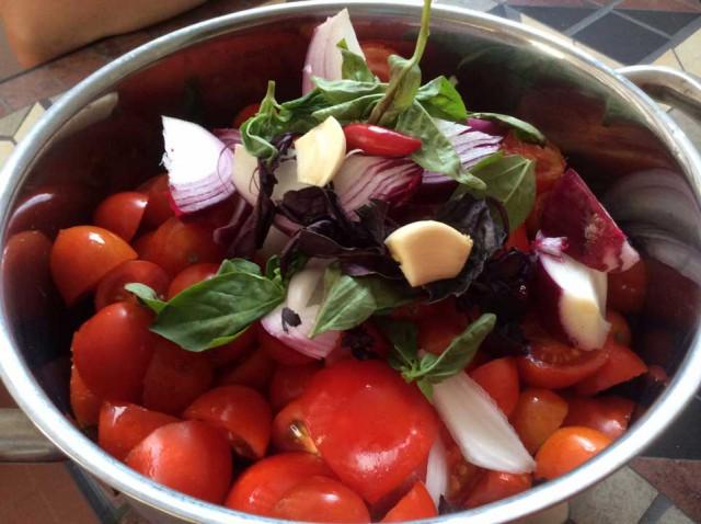 salsa pomodoro pezzettoni