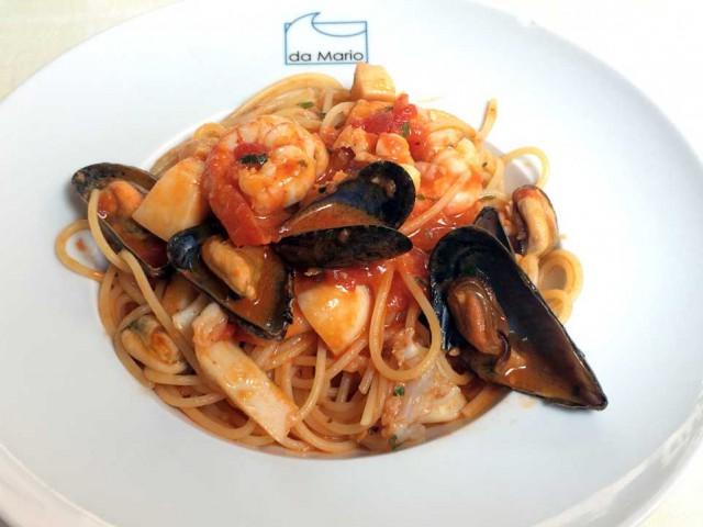 spaghetti mare Rapallo