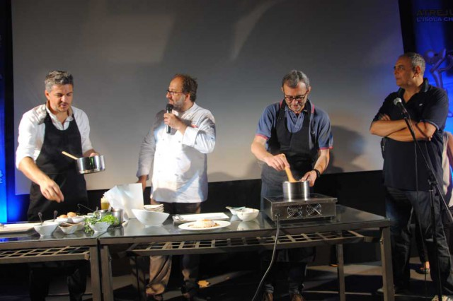 Vincenzo Pagano giudice gara gastronomica