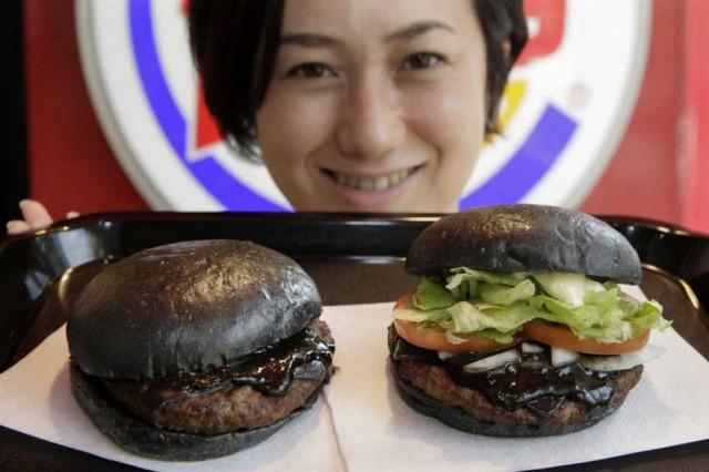 burger king hamburger nero