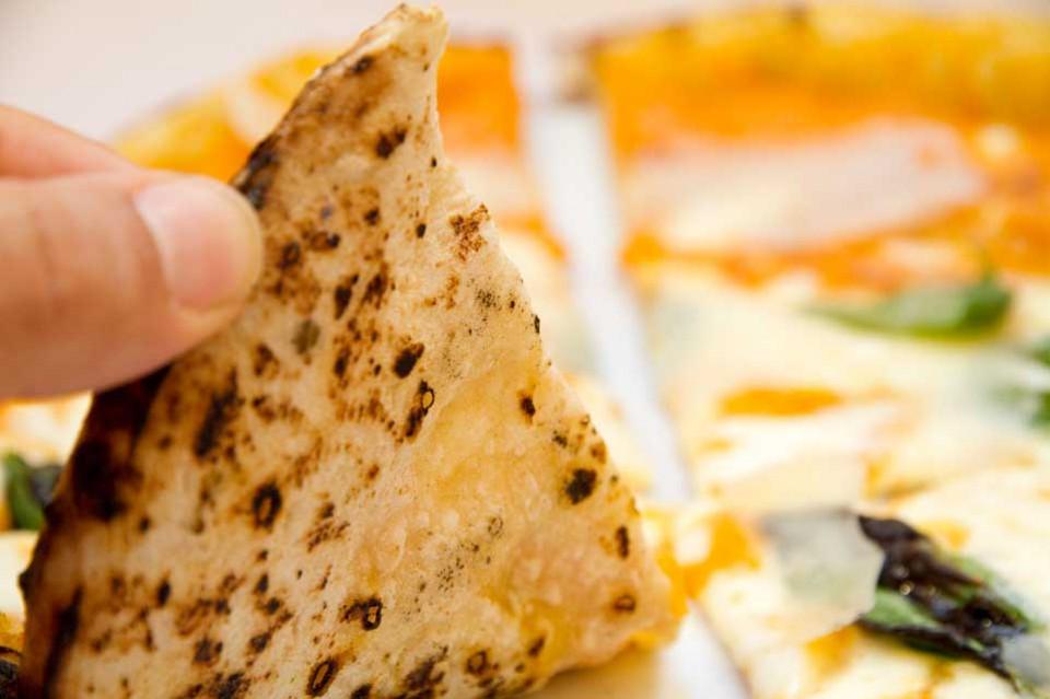 cottura pizza con zucca