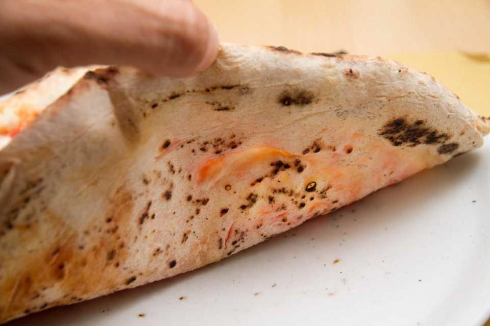 cottura pizza margherita