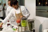 frullato pomodori, rucola, alga