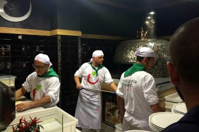 mozzarella basilico milano forno