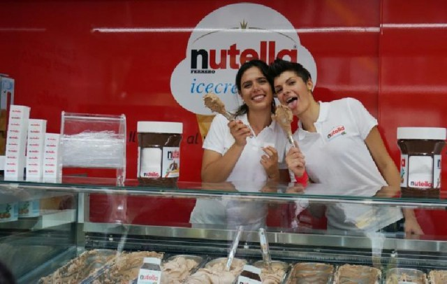 gelato festival nutella