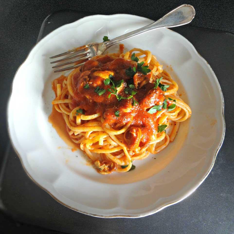 pasta cozze tarantina